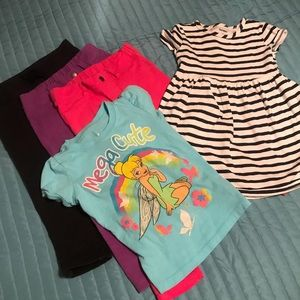 3T/4T lot of girls clothes